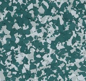 Flake flooring color sample - Briar.