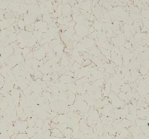 Flake flooring color sample - Milkweed.