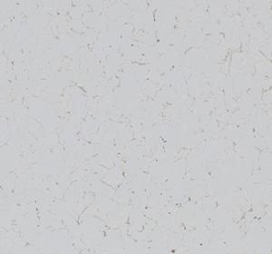 Flake flooring color sample - White.