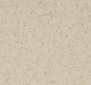 Flake flooring color sample - After Glow.