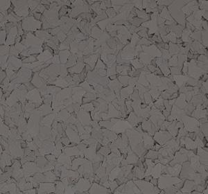 Flake flooring color sample - porpoise