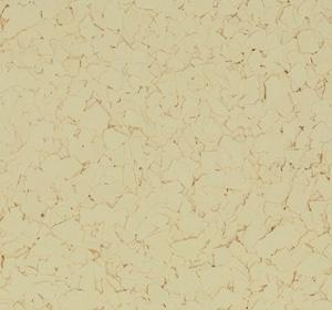 Flake flooring color sample - Lemon Yellow.