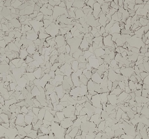 Flake flooring color sample - Navajo.