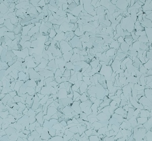 Flake flooring color sample - Jetstream.