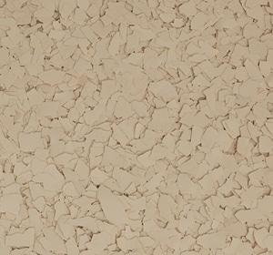 Flake flooring color sample - Potter.