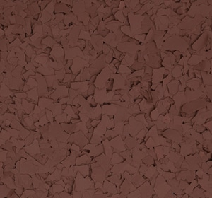 Flake flooring color sample - Gravy.