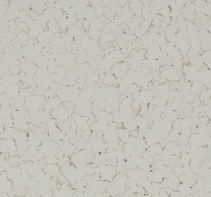 Flake flooring color sample - Eggshell.