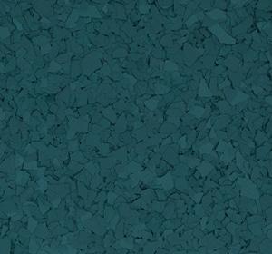 Flake flooring color sample - Garden View.