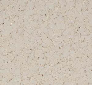 Flake flooring color sample - Sand Dune.