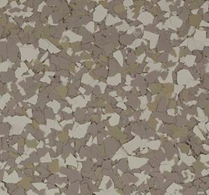 Flake flooring color sample - alpine.