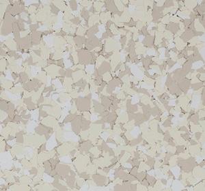 Flake flooring color sample - danish.