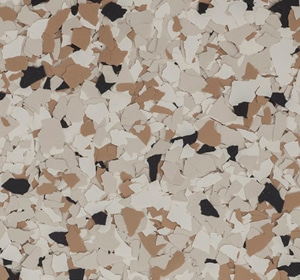 Flake flooring color sample - Shoreline Traditional.