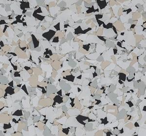 Flake flooring color sample - Yorkshire Modern.