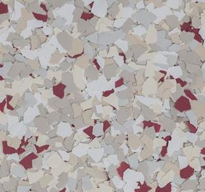 Flake flooring color sample - Matador Modern.