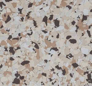 Flake flooring color sample - Thistle Modern.