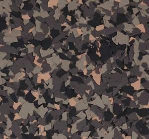 Flake flooring color sample - Portobello Modern.