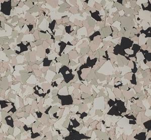 Flake flooring color sample - Beach Comber Contemporary.