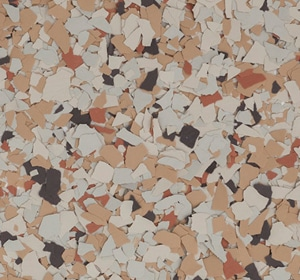 Flake flooring color sample - Scarecrow Contemporary.