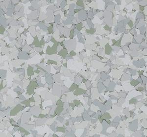 Flake flooring color sample - seacrest.