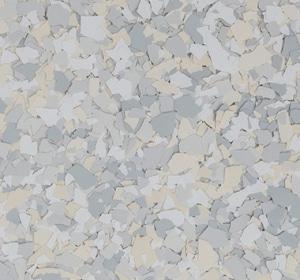 Flake flooring color sample - welsch.