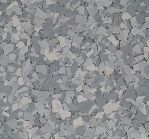 Flake flooring color sample - koala.
