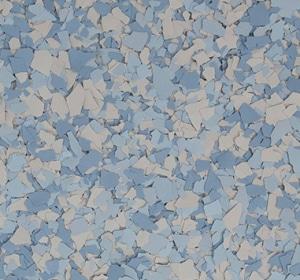 Flake flooring color sample - appalachian.