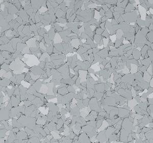 Flake flooring color sample - Wild Dove.