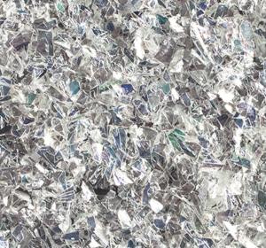Flake flooring color sample - Pearl Glitter.