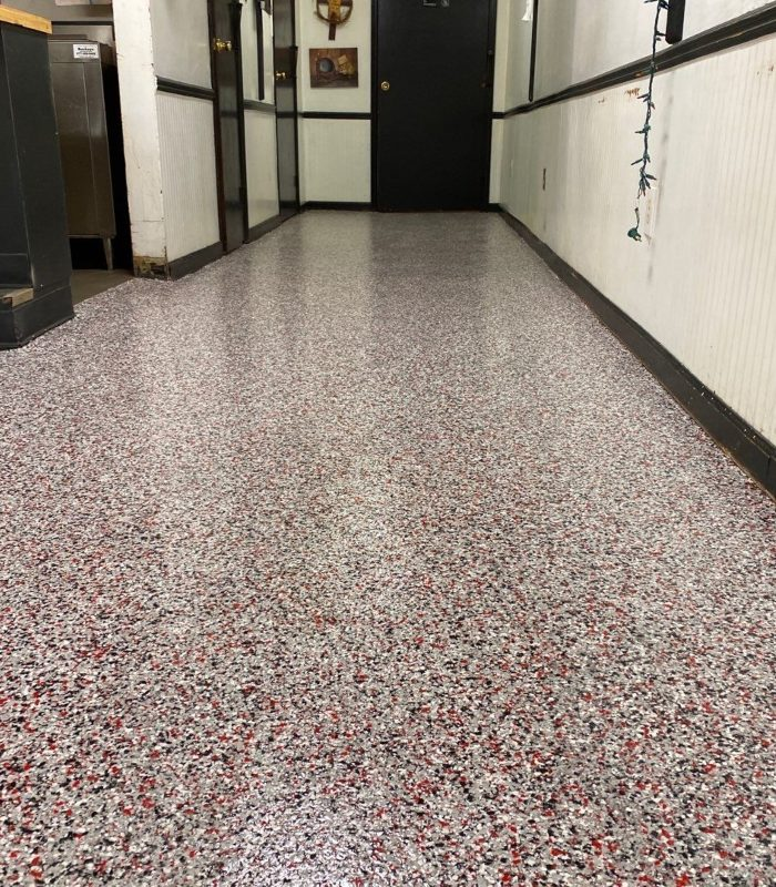 Another look at our granite flooring option for commercial use.