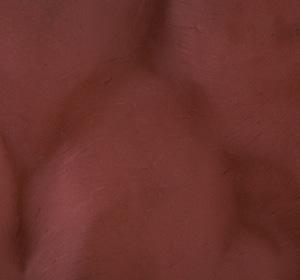 Metallic flooring color sample - sangria.