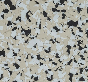 Flake flooring color sample - Paintail.