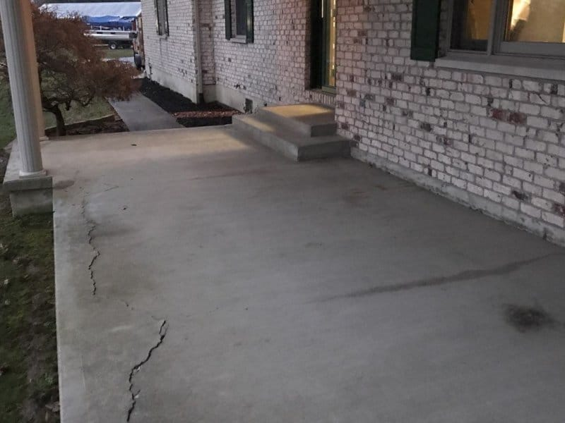 Custom flooring removes cracks and restore your patio.