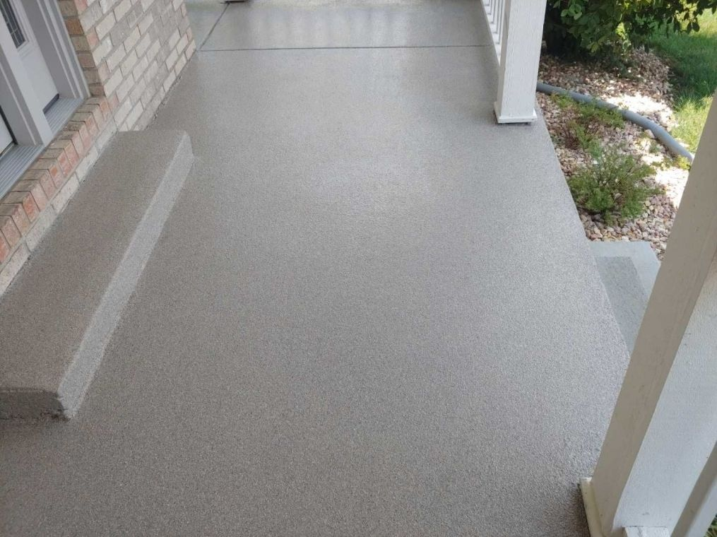 Another Granite flooring option for your home patio.