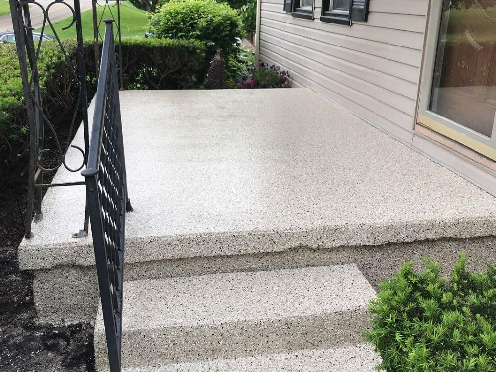Another look at a custom patio installed here in Dayton.
