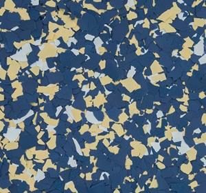 Flake flooring color sample - Ram.