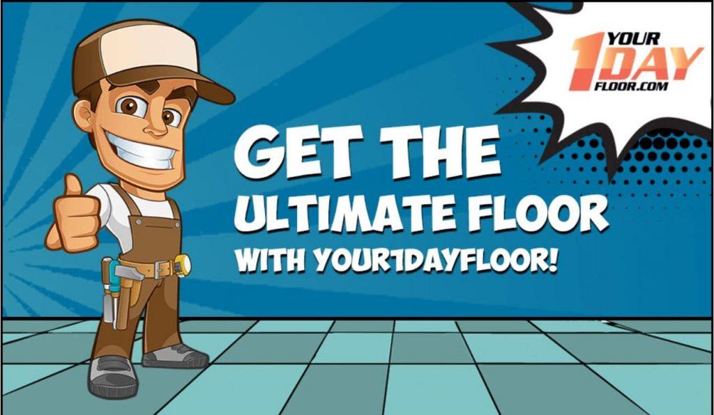 Blog header - The ultimate garage floor.