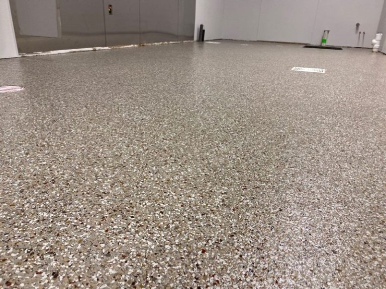Up close look at commercial floor install just completed.