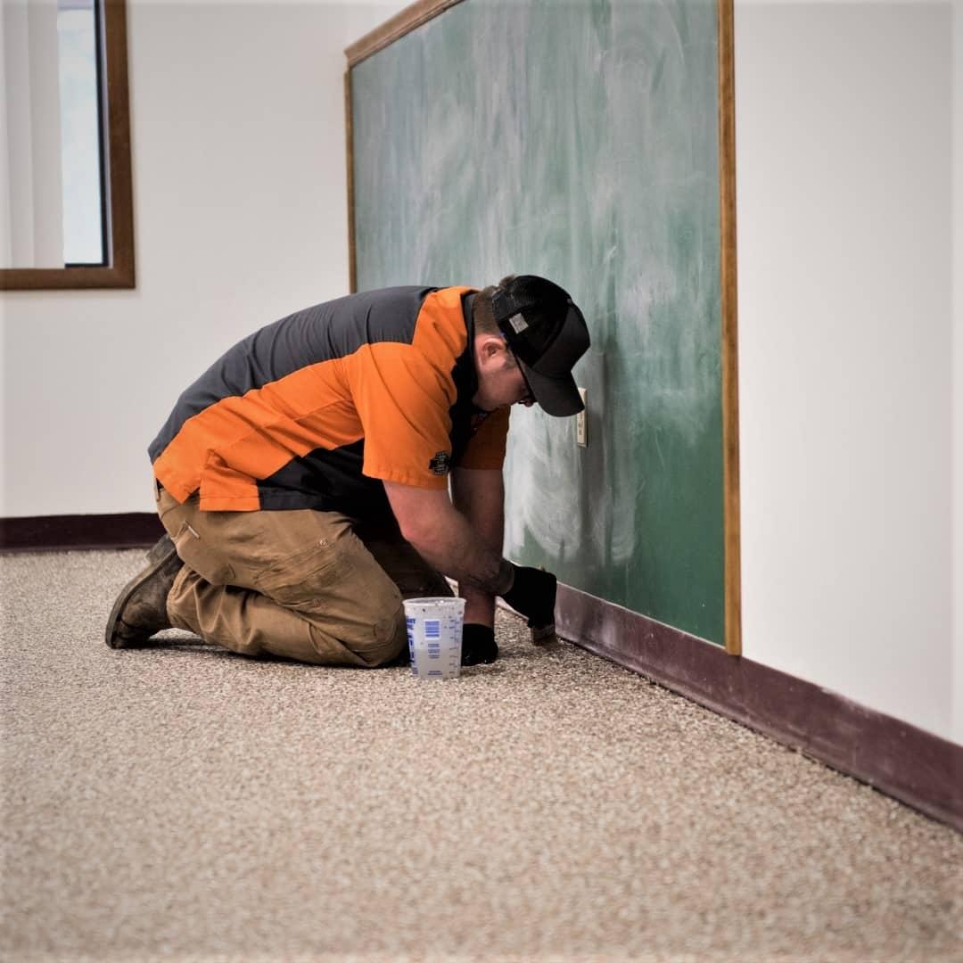 commercial concrete floor coating