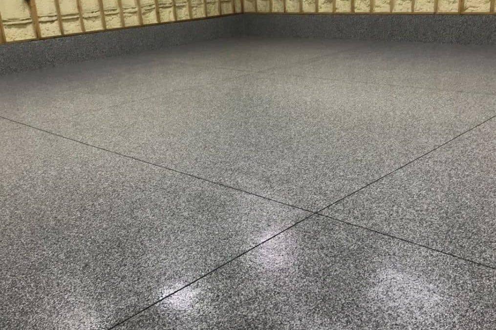 Modern Garage Floor Design:The Ultimate Garage Makeover