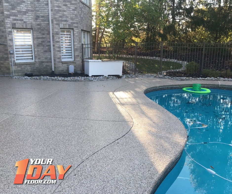 pool deck coating