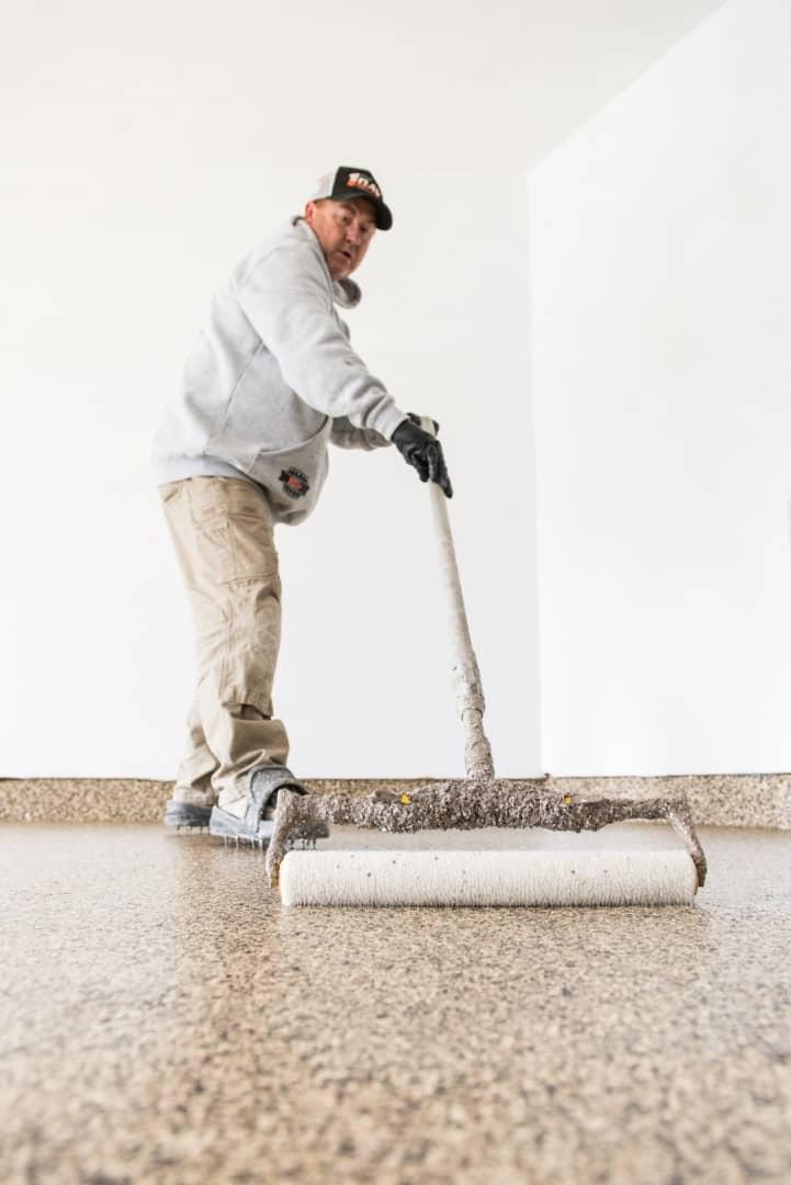 concrete floor coating