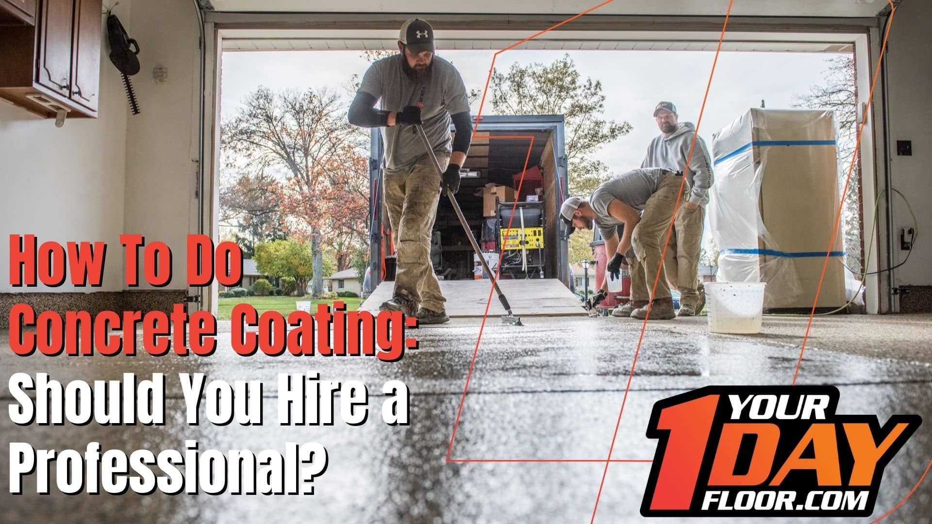 how to do concrete coating